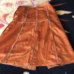 Skirts - Suede feel midi skirt